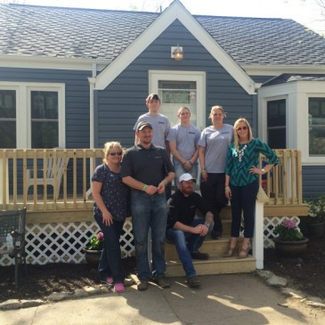 Special Thanks to the Staff for Helping with Omaha Home Makeover